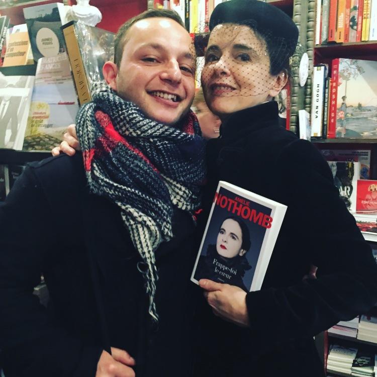 Amélie Nothomb et moi