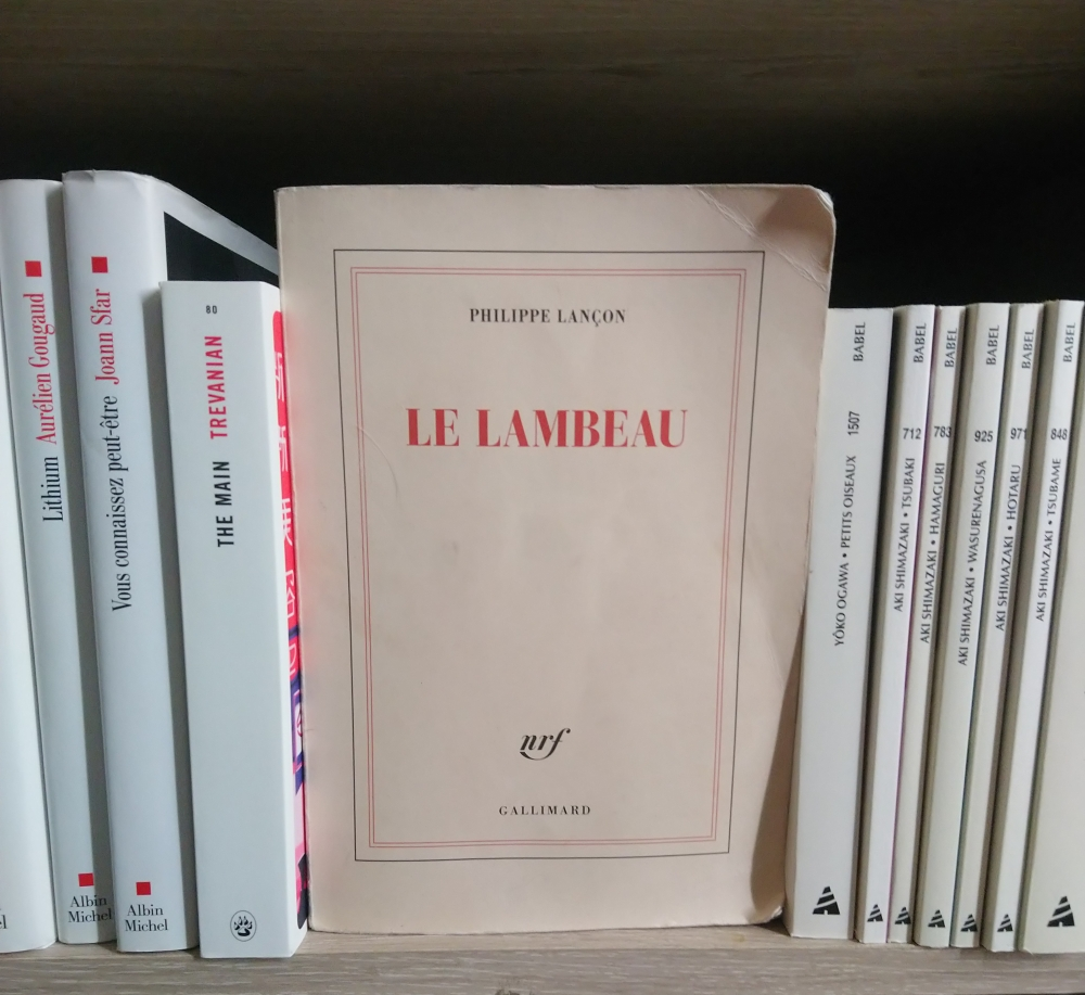 Philippe Lançon le lambeau
